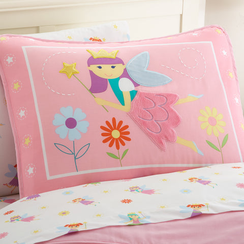 Olive Kids Fairy Princess Pillow Sham - 65417 -  Olive Kids Bedding - Nurzery.com