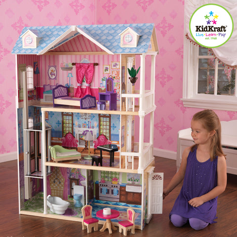KidKraft My Dreamy Dollhouse with Furniture - 65823 -  Kid Kraft Pretend Play - Nurzery.com - 1