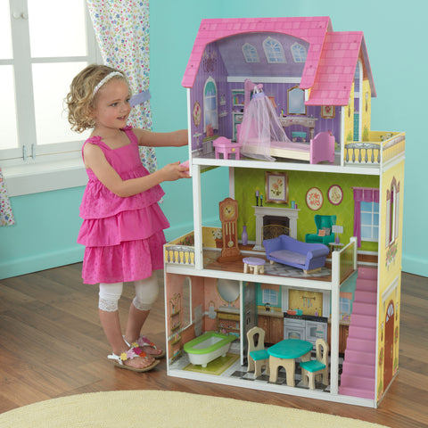 KidKraft Florence Dollhouse - 65850 -  Kid Kraft Pretend Play - Nurzery.com