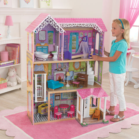KidKraft Sweet & Pretty Dollhouse - 65859 -  Kid Kraft Pretend Play - Nurzery.com - 1