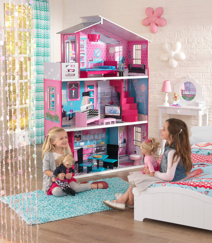 "KidKraft 18"" Breanna Dollhouse - 65882 -  Kid Kraft Pretend Play - Nurzery.com"