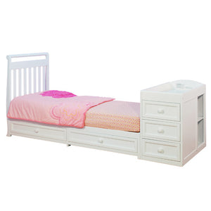 AFG Daphne I 2-in-1 Convertible Crib and Changer Combo - 662 -  AFG Furniture International All Cribs - Nurzery.com - 5