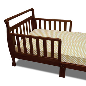 AFG Anna Sleigh Toddler Bed with Safety Rails - 7008 -  AFG Furniture International Toddler Bed - Nurzery.com - 5
