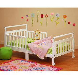 AFG Anna Sleigh Toddler Bed with Safety Rails - 7008 -  AFG Furniture International Toddler Bed - Nurzery.com - 7