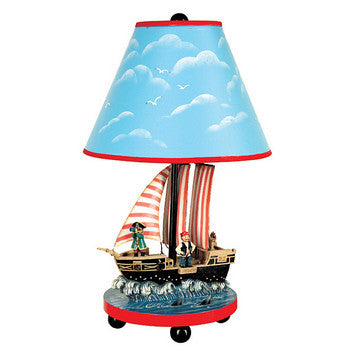 Guidecraft Pirate Table Lamp - G83707 - Default Title Guidecraft Toys - Nurzery.com