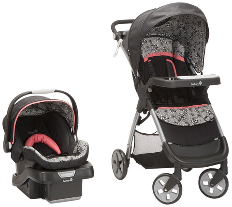 Safety 1st Amble Luxe Travel System w/ onBoard 35 Infant Car Seat (Gentle Lace) TR331CZF -  Safety 1st Car Seats - Nurzery.com