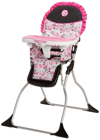 Disney Simple Fold Plus High Chair (Garden Delight (Minnie) HC218CZR -  Disney High Chairs & Boosters - Nurzery.com