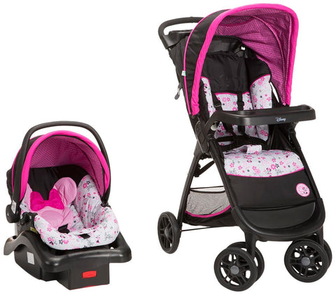 Disney Amble Garden Delight Minnie Travel System  TR351CZR -  Disney Strollers - Nurzery.com