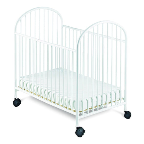 Foundations Classico Mini Crib with Mattress White - 1351097 -  Foundations All Cribs - Nurzery.com