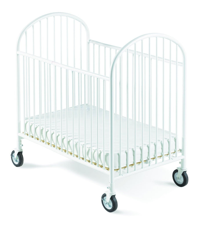 Foundations Classico Mini Crib with Mattress White - 1341097