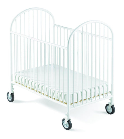 Foundations Classico Mini Crib with Mattress White - 1341097 -  Foundations All Cribs - Nurzery.com