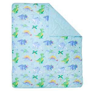 Olive Kids Dinosaur Land 5 pc Microfiber Bed in a Bag - Twin (73408)