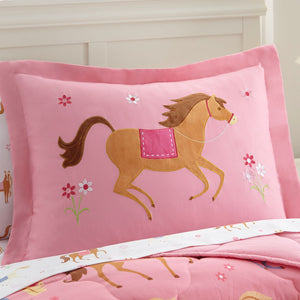Horses 5 pc Microfiber Bed in a Bag - Twin (73696)
