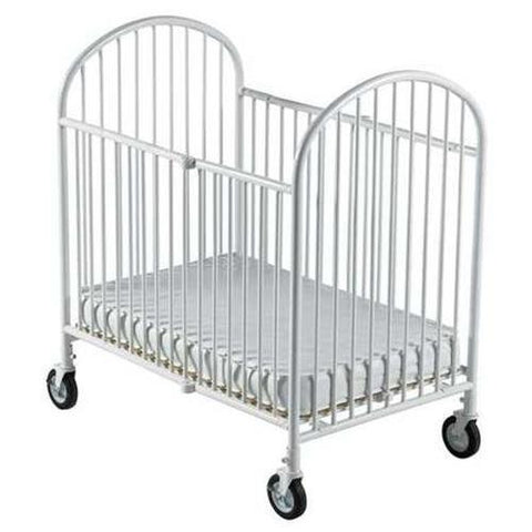 Foundations Compact Crib, Folding White - 1331097 -  Foundations All Cribs - Nurzery.com