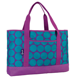 Big Dot Aqua Tote-All - 74119 -  Olive Kids Tote - Nurzery.com