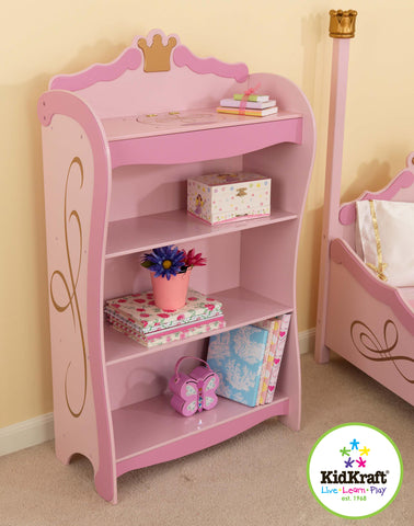 KidKraft Princess Bookcase - 76126 -  Kid Kraft Pretend Play - Nurzery.com