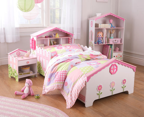 KidKraft Dollhouse Toddler Bed - 76254 -  Kid Kraft Pretend Play - Nurzery.com