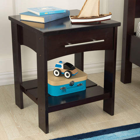 KidKraft Addison Twin Side Table Espresso - 76274 -  Kid Kraft Pretend Play - Nurzery.com