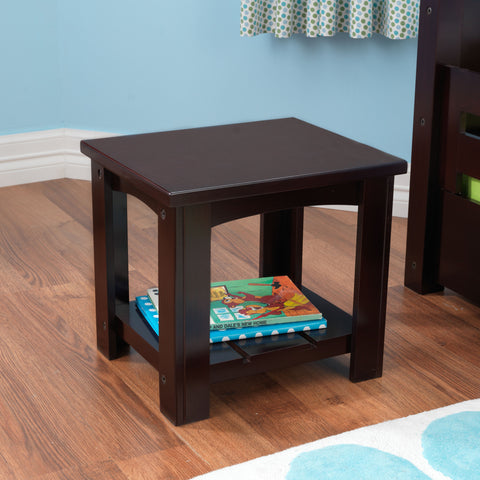 KidKraft Addison Toddler Table Espresso - 76276 -  Kid Kraft Pretend Play - Nurzery.com