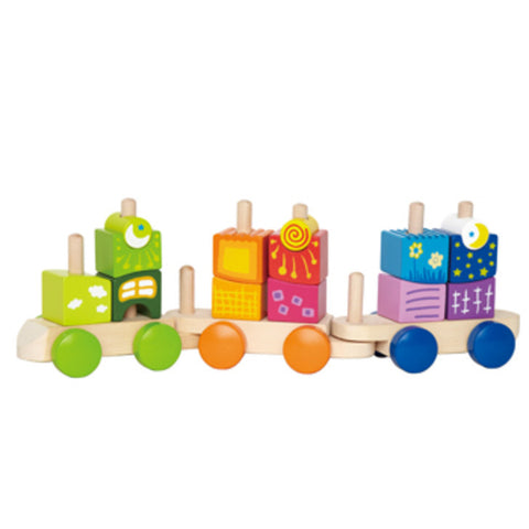 Hape Fantasia Blocks Train - E0417 -  Hape Toys - Nurzery.com - 1
