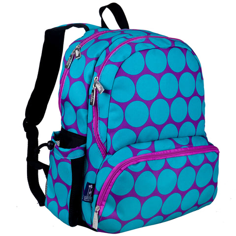Big Dot Aqua Megapak Backpack - 79119 -  Olive Kids Backpacks - Nurzery.com
