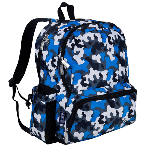 Blue Camo Megapak Backpack - 79213 -  Olive Kids Backpacks - Nurzery.com