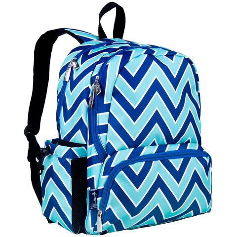 Zigzag Lucite Megapak Backpack - 79551 -  Olive Kids Backpacks - Nurzery.com