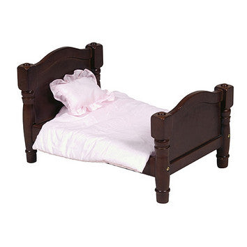 Guidecraft Doll Bed Espresso - G98111 - Default Title Guidecraft Toys - Nurzery.com