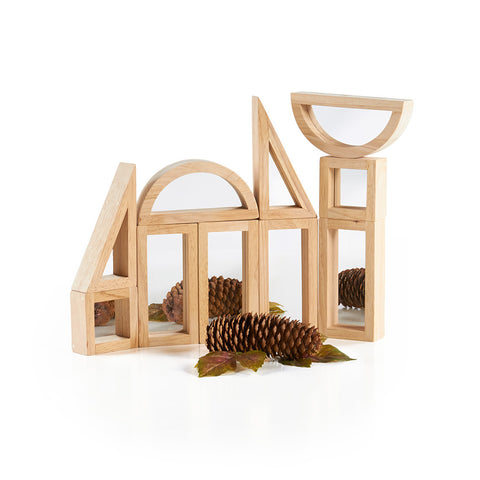 Guidecraft Mirror Blocks 10 pc Set - G3017 - Default Title Guidecraft Toys - Nurzery.com