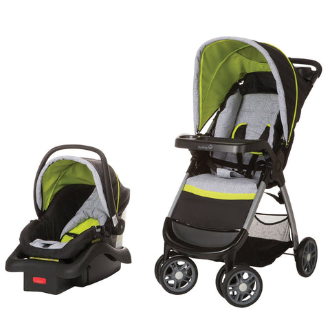 Safety 1st Amble Quad Travel System  w/ onBoard 22 Infant Car Seat TR321CYT -  Safety 1st Car Seats - Nurzery.com