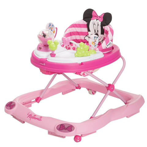 Disney 3D Glitter Minnie Mouse Music and Lights Walker WA067CMH -  Disney Walkers - Nurzery.com
