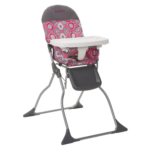 Cosco Simple Fold™ High Chair (Posey Pop) HC225DCC -  Cosco High Chairs & Boosters - Nurzery.com