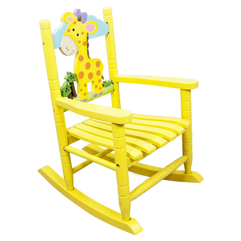 Teamson Kids- Safari Rocking Chair - Giraffe-W-8339A -  Teamson Kids Rocking Chair - Nurzery.com - 1