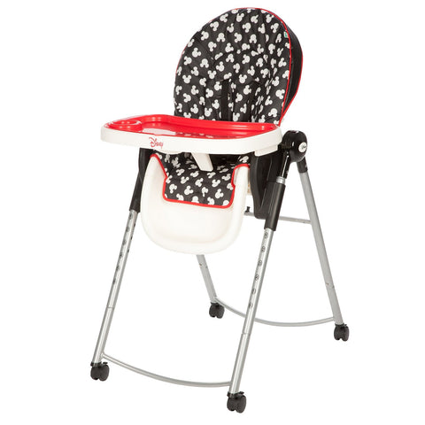 Disney Adjustable High Chair - Mickey Mouse Silhouette HC230CLV -  Disney High Chairs & Boosters - Nurzery.com