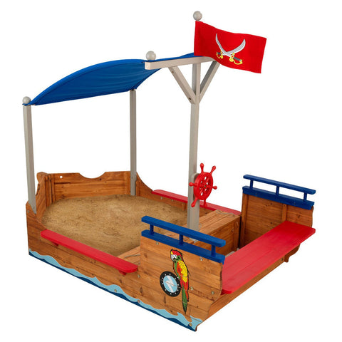 KidKraft Pirate Sand boat - 00128 -  Kid Kraft Pretend Play - Nurzery.com - 1