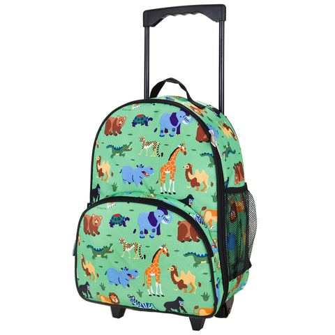 Olive Kids Wild Animals Rolling Luggage - 85080 -  Olive Kids Luggage - Nurzery.com