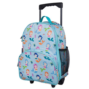 Wildkin - Mermaids Rolling Luggage - 85081