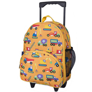 Wildkin - Under Construction Rolling Luggage - 85110