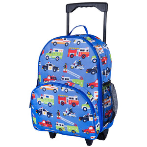 Wildkin - Heroes Rolling Luggage - 85111
