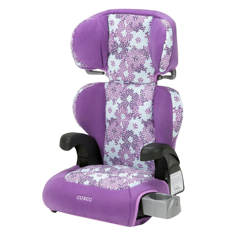 Cosco Pronto Belt-Positioning Booster Car Seat (Petal Pallet) BC033DFP -  Cosco Car Seats - Nurzery.com
