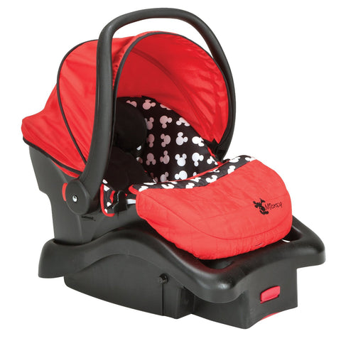 Cosco Light 'N Comfy Luxe Infant Car Seat (Mickey Silhouette) IC233CLV -  Cosco Car Seats - Nurzery.com