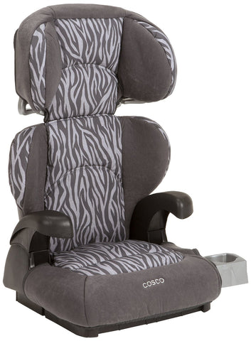 Cosco Pronto Belt-Positioning Booster Car Seat Ziva (Zebra) BC033DAK -  Cosco Car Seats - Nurzery.com