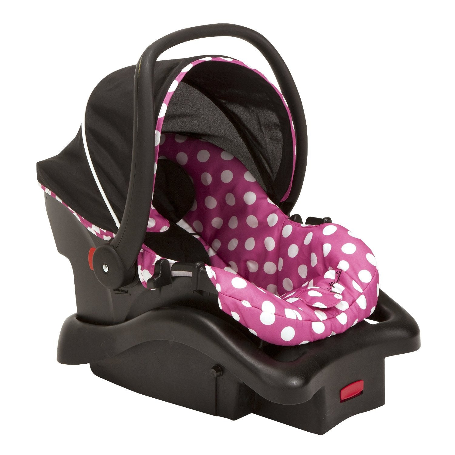 Amazing Cosco Light N Comfy Luxe Infant Car Seat Minnie Dot Dailytribune Chair Design For Home Dailytribuneorg