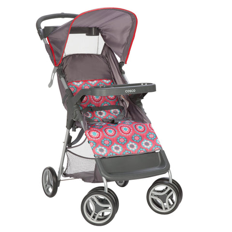 Cosco Lift & Stroll™ Convenience Stroller (Posey Pop) CV286DCC -  Cosco Strollers - Nurzery.com