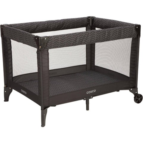 Cosco Funsport Deluxe Play Yard - Black Arrows - PY376DFL -  Cosco Play Yard - Nurzery.com - 1