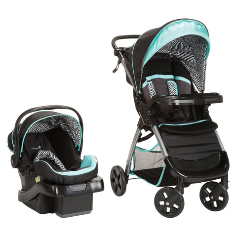 Safety 1st Amble Luxe Travel System w/ onBoard 35 Infant Car Seat (Black Ice) TR331CYG -  Safety 1st Car Seats - Nurzery.com