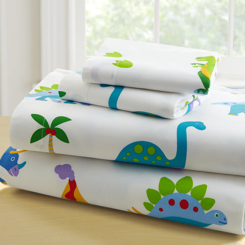 Olive Kids Dinosaur Land Toddler Sheet Set - 92412 -  Olive Kids Bedding - Nurzery.com