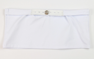 Belly Button Band - Maternity Band (White)