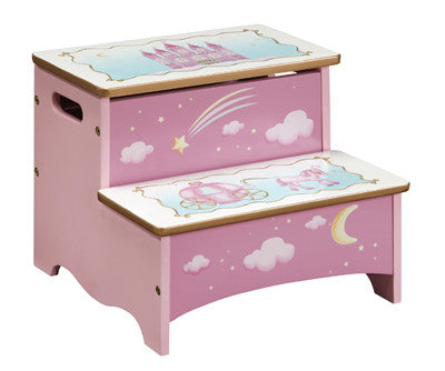 Guidecraft Princess Storage Step Up - G86306 - Default Title Guidecraft Toys - Nurzery.com