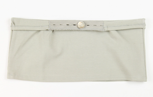 Belly Button Band - Maternity Band (Light Gray)